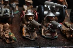 German lead soldiers