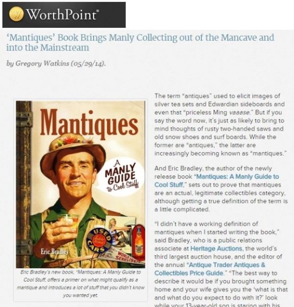 WorthPoint Mantiques Gregory Watkins